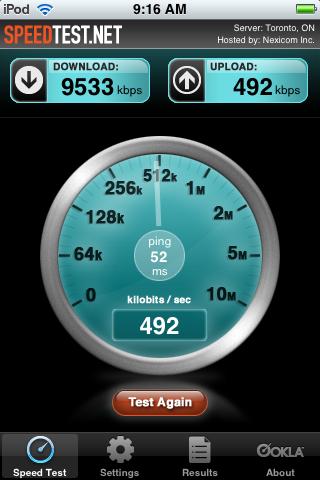 Rogers Internet download speed increase IMG_0007